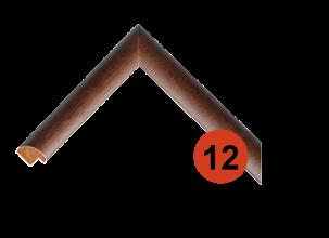 Багетная рама из натурального дерева 12