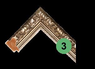 Деревянная багетная рама 3