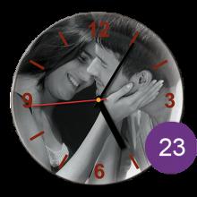 Часы керамические с фотографией 23