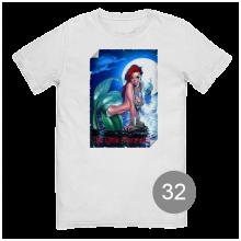 """футболка с принтом """"русалка"""""""