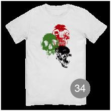 футболка с принтом 34