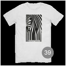 "футболка с принтом ""ШТРИХ-КОД"""