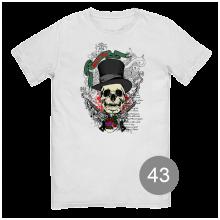 футболка с принтом 43