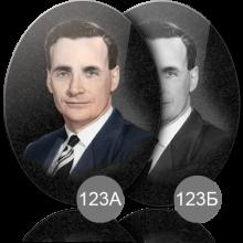 Портреты имитирующие гравировку на камне 123 А Б
