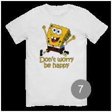 """футболка с принтом """"Губка Боб"""""""