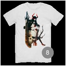 футболка с принтом 8