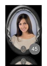 Овальный портрет 45 для памятника